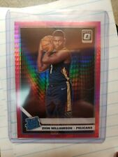 2019 20 Panini Optic Zion Williamson Hyper Pink Rated Rookie