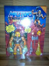 Figure Masters Of The Universe Origins - He-Man / Musclor Battle Armor / Mattel