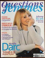 ►QUESTIONS DE FEMMES N°85 - 2003 - MIREILLE DARC