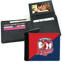 NRL Mens Wallet - Sydney Roosters - 12x10cm - Fits 10 Card + Notes