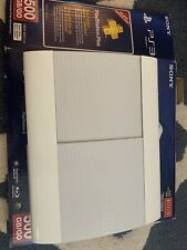 PS3 Super Slim 500GB White Limited Edition CECH-4001C W/ Controller & Games