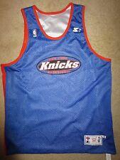 New York Knicks NBA Game Worn Practice Basketball Starter Jersey XL
