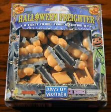 HALLOWEEN FREIGHTER TICKET TO RIDE TRAIN & STATION SET - NEW - FACTORY SEALED