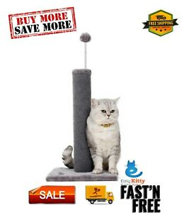 Carpet Scratching Post, Cat scratching, relax for cats, toy for cats, Grey