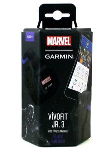 Garmin Vivofit Jr. 3 Marvel Black Panther Kids Fitness Tracker Avengers Marvel
