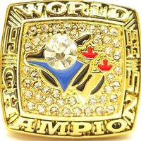 1993 Toronto Blue Jays Gaston NHL Stanley Cup 18k Gold Plated Championship Ring