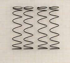 4 x Druckfeder, Länge 58mm, AußenØ 14mm, DrahtØ 0,8mm