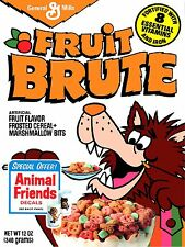 1980 Fruit Brute Monster Cereal High Quality Metal Magnet 3x4 inches 9638