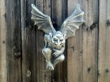 READY EX-STOCK ! Gargoyle/Gremlin Wall Plaque Garden Ornament Latex Mould