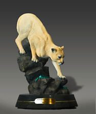 BRONZE Cougar Amazing Detail!!! Limited Edition SCULPTURE by BARRY STEIN