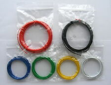 18m Equipment Wire Pack 1/0.6mm - 22-23 AWG*  -  6 Colours  Single Solid Core