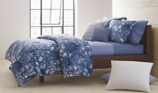 $285 Queen Set 3pcs Calvin Klein =>1 Duvet Cover + 2 pillowcases kensington ice
