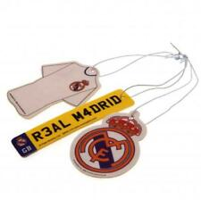 Real Madrid FC 3 Pack Air Freshener For Car Room Office Accessories Xmas Gift