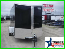 6X12 12Ft Slope 2' V-Nose Utility Cargo Enclosed Sport Band Move Hunt Trailer