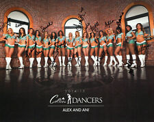 BOSTON CELTICS DANCERS 14-15 HAND SIGNED 8x10 COLOR PHOTO+COA      SIGNED BY ALL
