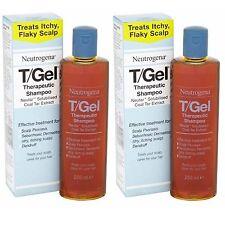 New 2 x 250ml Neutrogena T/Gel Therapeutic Shampoo