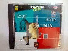 CD-ROM TESORI D'ARTE IN ITALIA DE AGOSTINI MULTIMEDIA