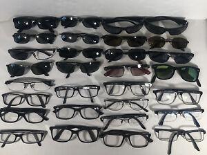 Lot Of 30 Ray Ban Eyeglasses/ Sunglasses EB