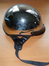 Vintage Fulmer Chrome Motorcycle Helmet Japan