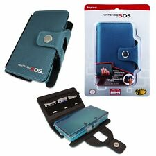 Officially Licenced - Nintendo 3DS Play & Protect Case - Hand Strap Game AQUA