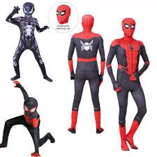 Spiderman Kostüm Kinder Erwachsene Cosplay Karneval Venom Overall Spielanzug DE
