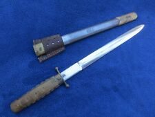 Original Ww2 Chinese Nationalist Army Dagger And Scabbard
