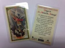 HOLY PRAYER CARDS PRAYER TO ST MICHAEL IN ENGLISH SET OF 2 FREE SHIPPING IN US!