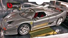 Bburago 95 Ferrari F50 HardTop (Rare Color) Graphite 1:18 Die Cast  (Italy) NIB