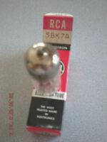 RCA 5BK7 VINTAGE VACUUM TUBE, NIB / NOS. ($6.60) ea.