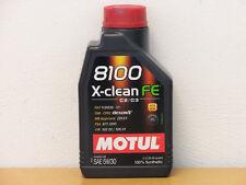 Motul 8100 X-clean FE 5W-30 C2 C3 1 Ltr  PSA B71 2290 Fiat 955535-S1