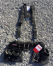 Craftsman Contractor Rig Belt w/ Suspension Padded Suspenders 34528 NEW