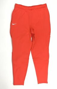 Nike Clemson Tigers Team Sideline Heavyweight Fleece Pant Men's M Orange BQ6969