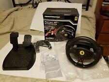Thrustmaster Ferrari GT Experience Racing Wheel (PC-PS3) V3 VGUC in Box