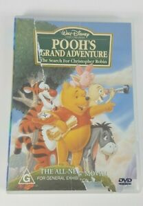Disney Winnie the Pooh Pooh's Grand Adventure DVD Region 4