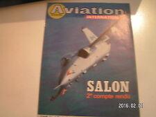 ** Aviation international magazine n°899 Le Bourget 85 Mirage 2000 pour le Pérou