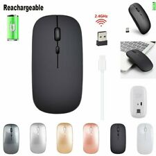 Reachargeable M80 2.4G Wireless Mouse Ultra-Thin Silent Notebook Mice 1600DPI US