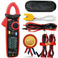 Uni T Ut210d Clamp Meter Acdc Current Voltage Digital Multimeter Temp Tester