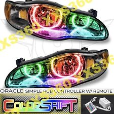 ORACLE Halo 2x HEADLIGHTS for Chevrolet Monte Carlo 00-05 LED COLORSHIFT Simple