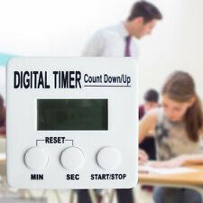 Timer Kitchen Baking Countdown Cooking Count Up Digital LCD Square Alarm