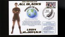 Leon MacDonald All Blacks 2005 Grandslam Champions Cv