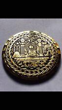 Masonic Lodge  Master Mason Commemorative Electro gold plated Freemason Coin
