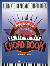 Ultimate Keyboard Chord Book Learn to Play Organ Piano Pop Rock Music Book