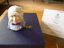 Royal Worcester Punch & Judy 'Baby' Candle Snuffer Ltd Ed Cert of Auth Bxd