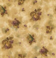 KITCHEN GRAPE, FRUITS, LEAVES Wallpaper BG21506