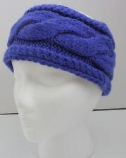 Merona Blue Cable Knit Headband NWT