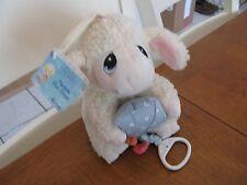 PRECIOUS MOMENTS PLUSH  NWT  wish upon star lamb kit music pull toy vintage baby