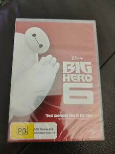Big Hero 6 Brand New and Sealed Region 4 - Free Shipping