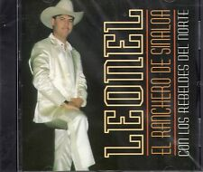 Leonel El Ranchero de Sinaloa con Los Rebeldes del Norte CD New Nuevo Sealed
