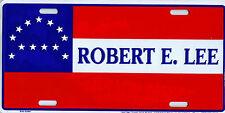 El general Lee csa Rebel estados sureños confederados chapa escudo license plate 30x15cm