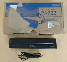 Brother PJ-722 A4 Portable Printer - Used 50 pages printed